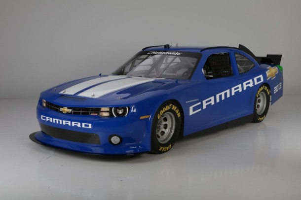 The Chevrolet Camaro will compete in the NASCAR Nationwide Series beginning in 2013.