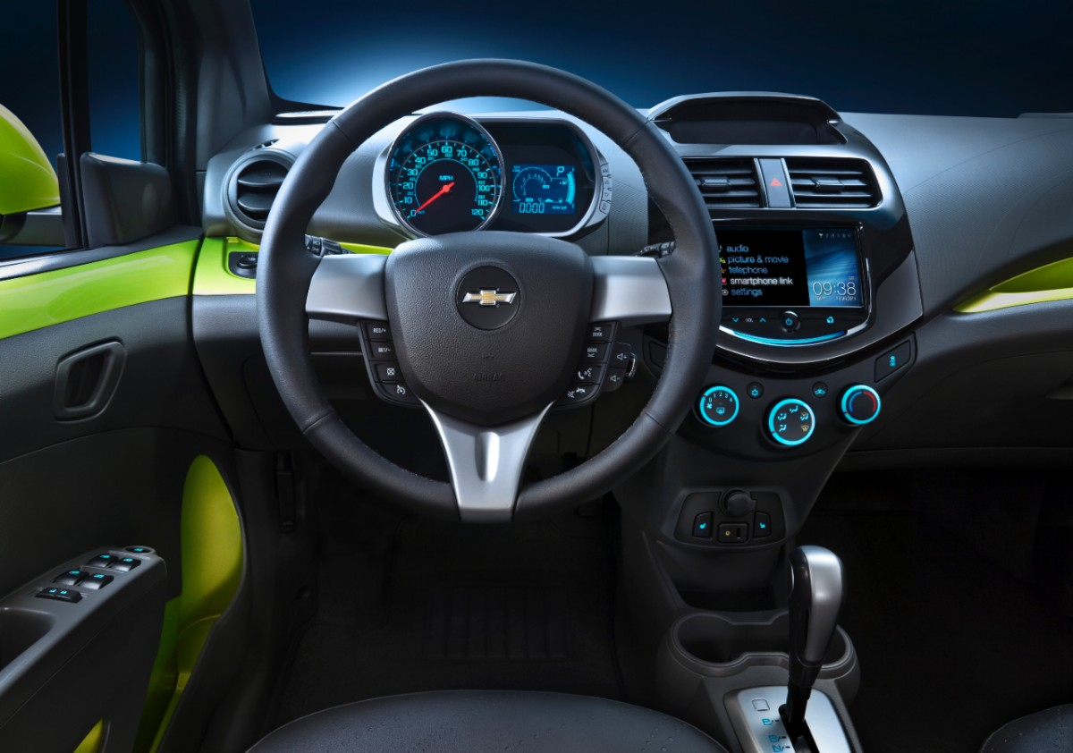 The Chevrolet Spark Is Remixed for City Living – crottyblog