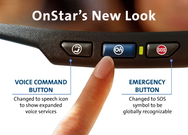 2013 Onstar New Look