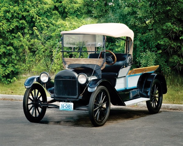 1916 Four Ninety pickup built for use in Chevrolet plants Photo courtesy of Vintage Chevrolet Club of America