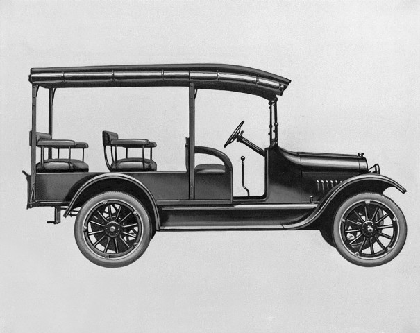 1918 Chevrolet 490 half-ton Cowl Chassis