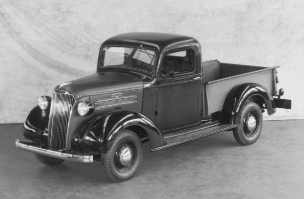 1937 Chevrolet GC Series half-ton pick-up truck