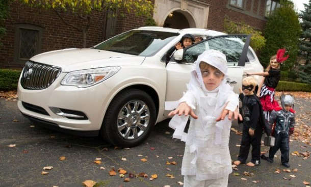 Buick Enclave and Halloween