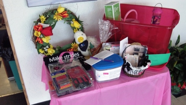 Making Strides Raffle