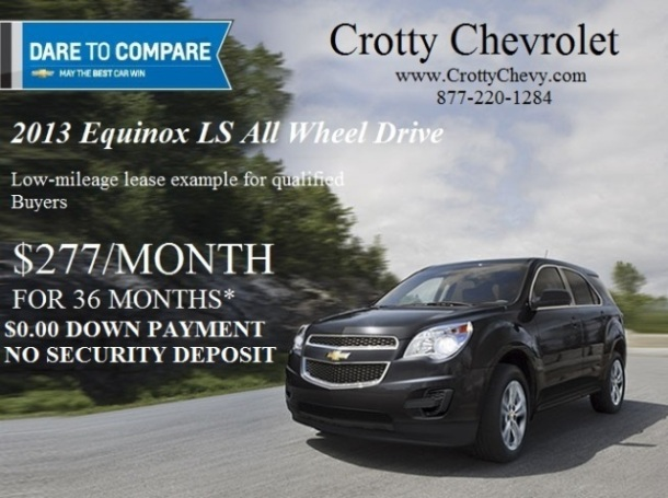 2013 Chevrolet Equinox Lease