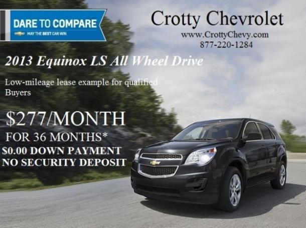2013 Chevrolet Equinox Lease